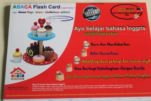 ABACA Flashcard English Series