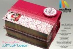 "Al Quran Cantik ""Shocking Pink Little Flower"""